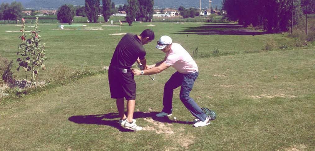 cours de golf coaching leçons golf Trackman haute savoie genève veigy mornex flaine
