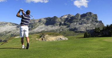 stage golf flaine été