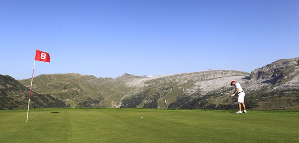 stage golf flaine carte verte haute savoie été