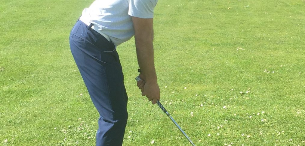 golf posture exemple parfaite