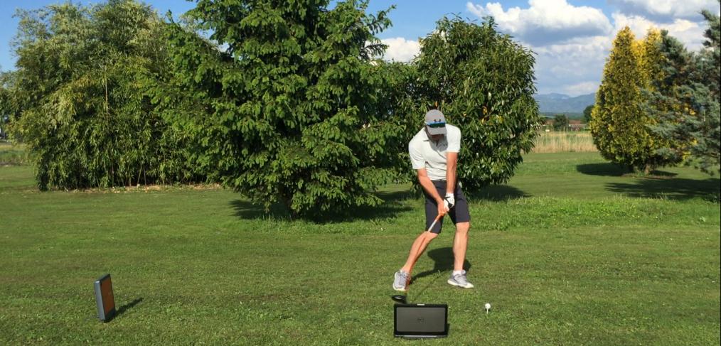 golf cours leçon trackman vidéo