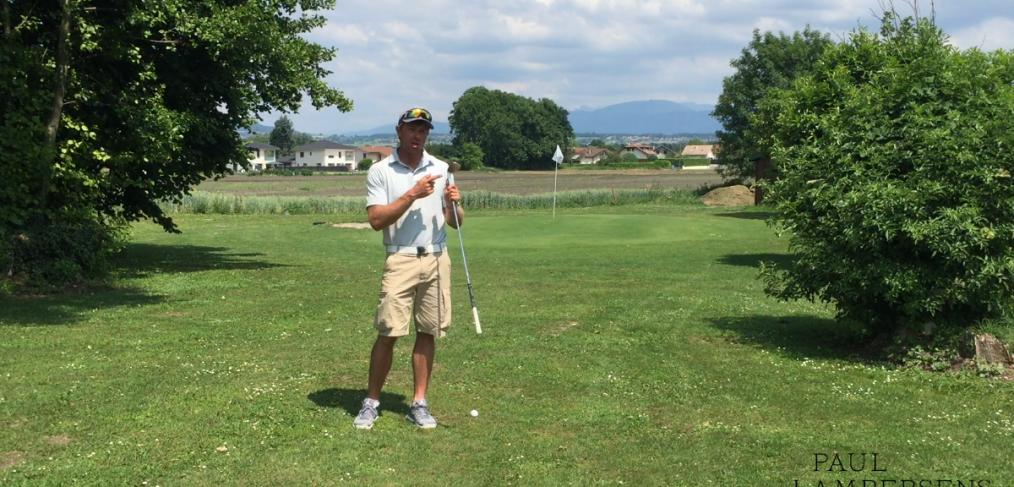 golf backspin green leçon cours astuce