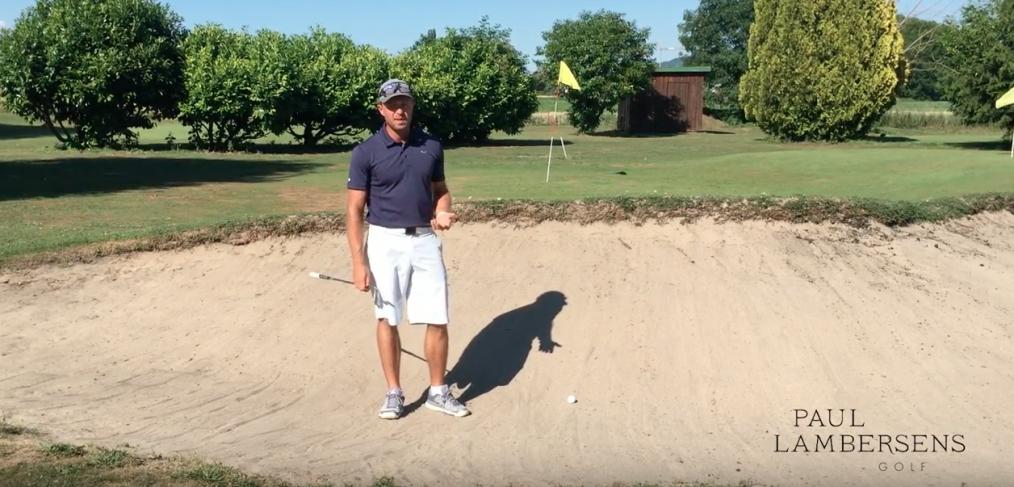 golf bunker leçon cours astuce