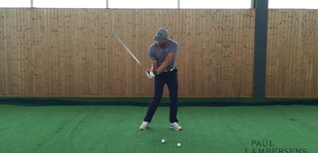 golf exercice astuce poignets