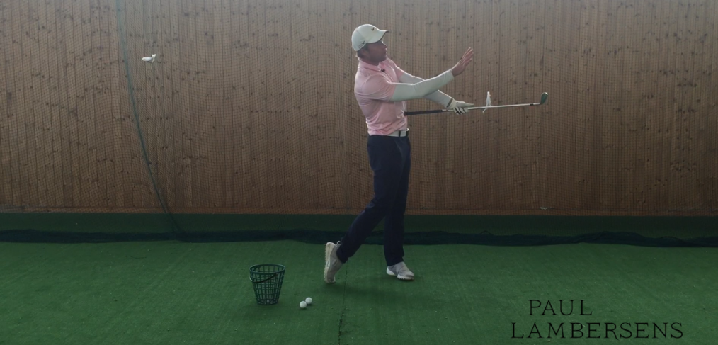 exercice chicken wing golf