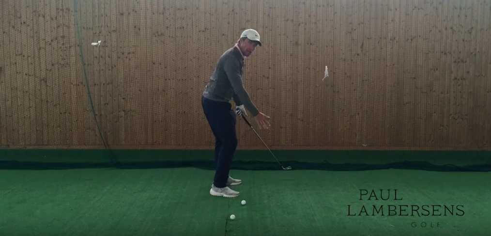 golf cours backswing