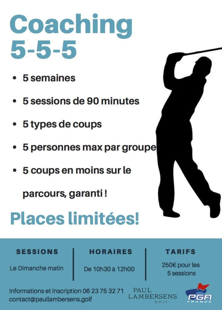 golf coaching cours leçon prof haute savoie geneve