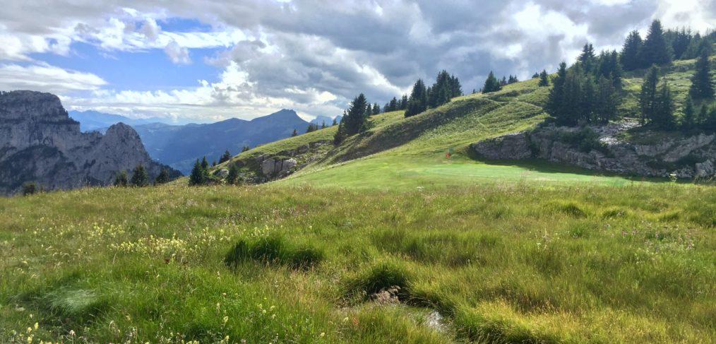 stage golf flaine haute savoie prof carte verte cours
